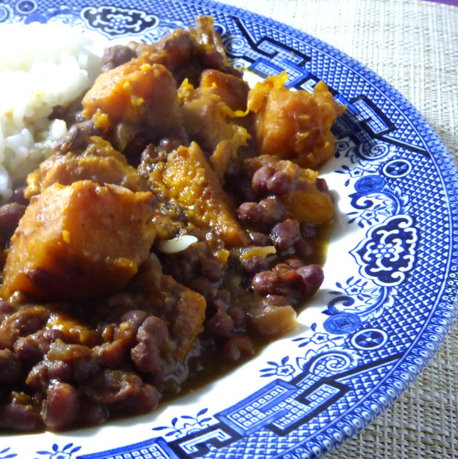 Adzuki Bean, Coconut and Sweet Potato Curry 1