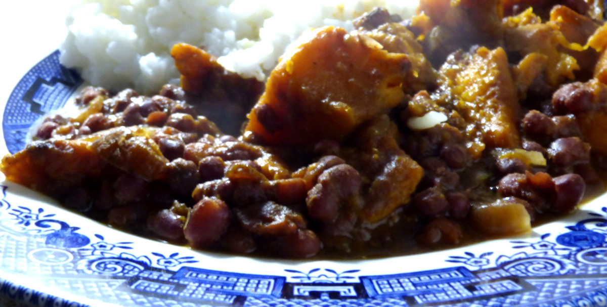 Adzuki Bean, Coconut and Sweet Potato Curry 2