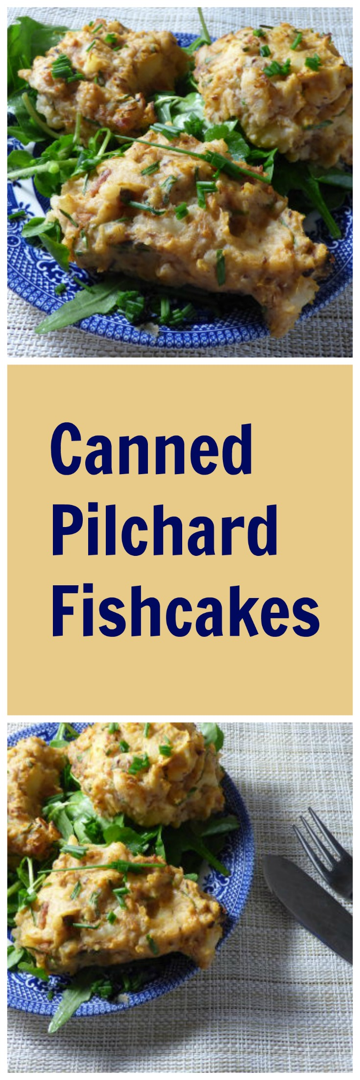 Canned Pilchard Fishcakes