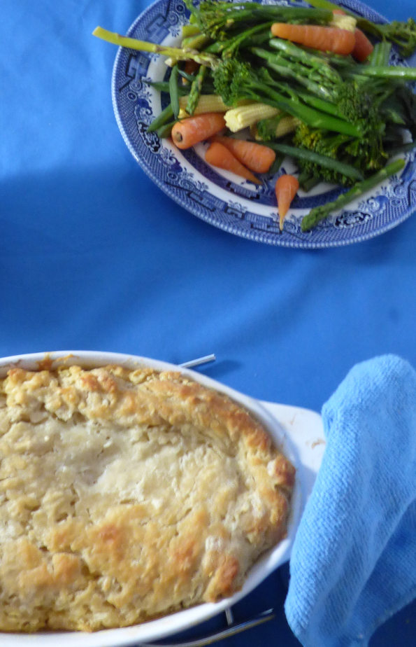 Keema Pie with Vegetables