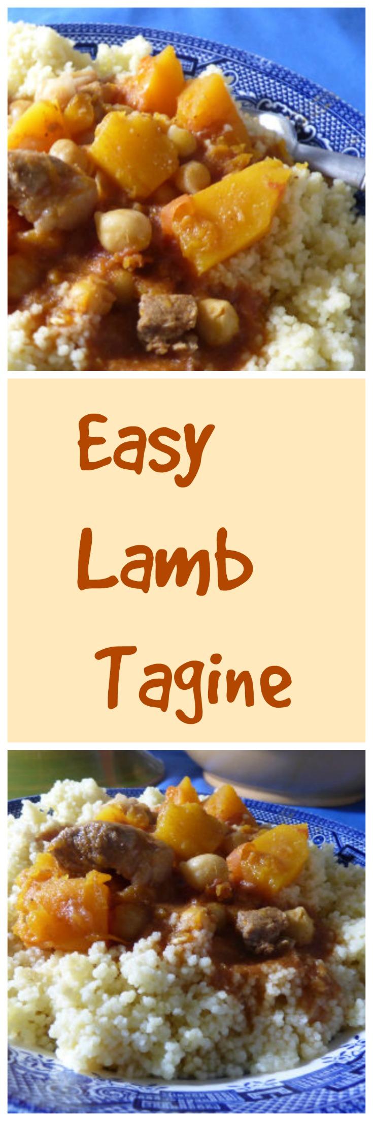 easy lamb tagine long