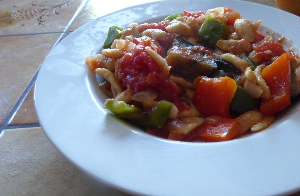 Spaetzle with Vegetables