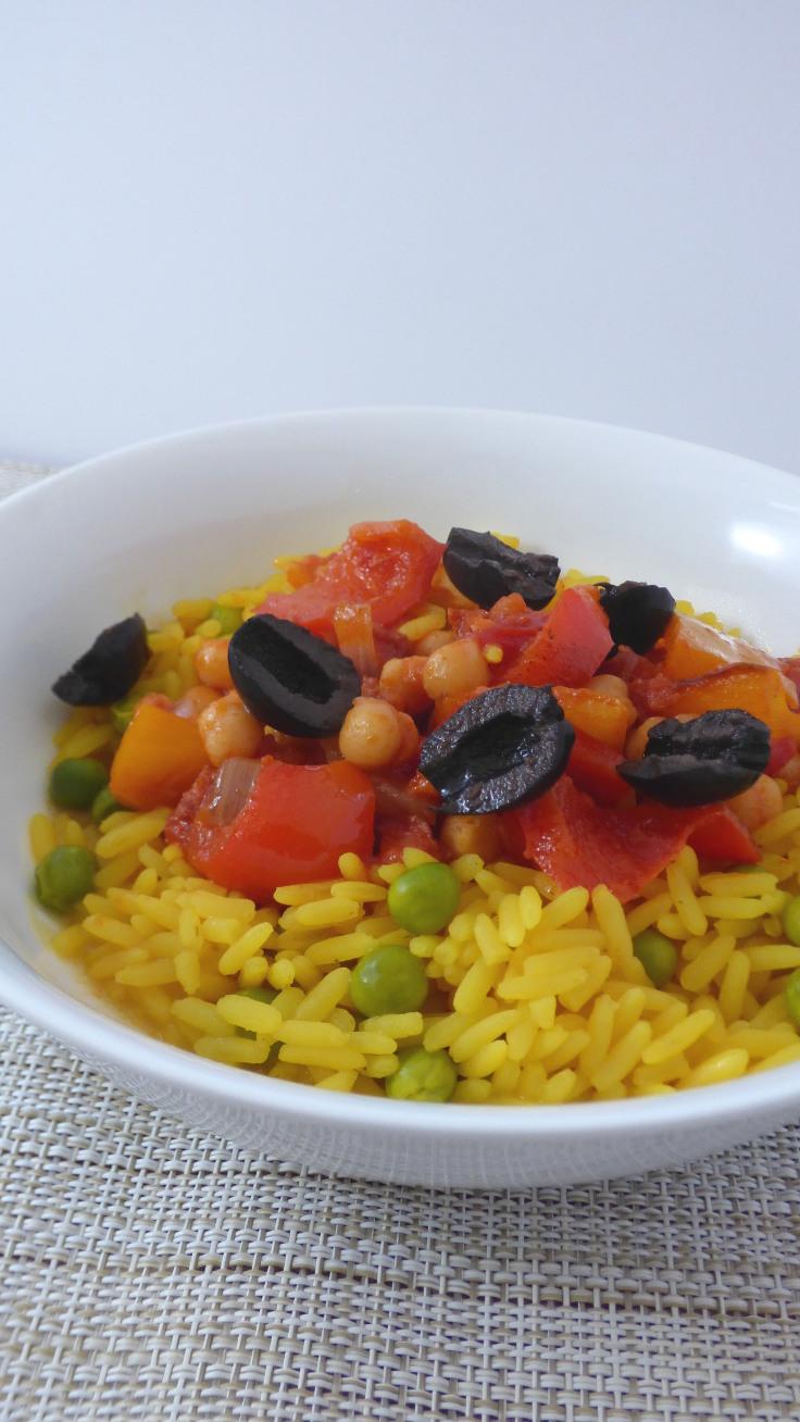 spanish style chickpeas and chorizo long
