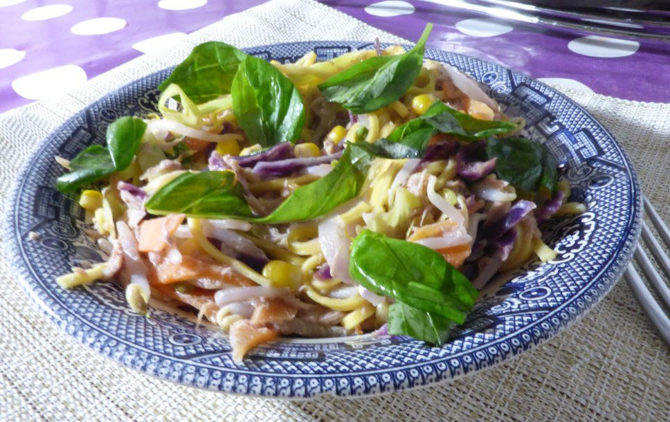 Canned Tuna Recipe – 20 Minute Thai Style Noodles