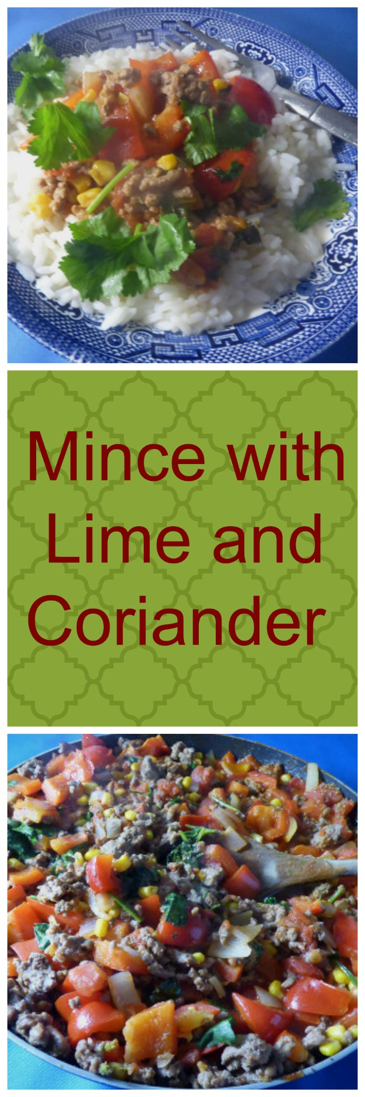 Mince with Line and Coriander Long