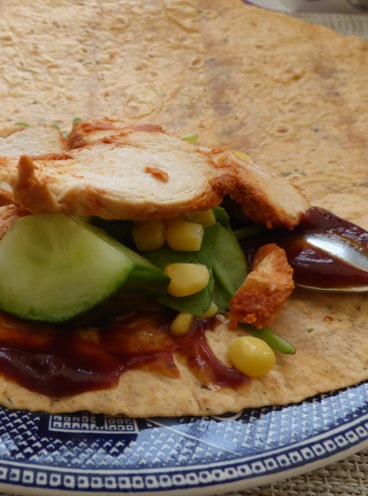Weekend Wraps No.2 – Barbecue Chicken Wraps