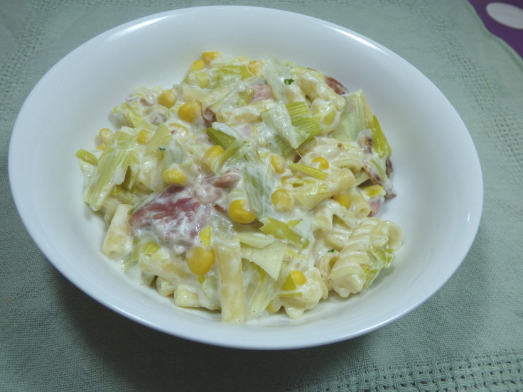 Creamy Pasta with Bacon – Cheats' Midweek Meal